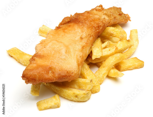 Foto op Canvas Vis Fish & Chips