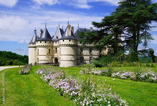 Spoed Foto op Canvas Kasteel château de Chaumont-sur-loire