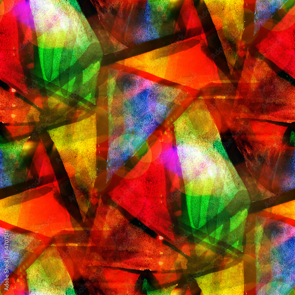 sunlight abstract texture art water color seamless red, yellow,