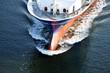 canvas print picture - Frachtschiff