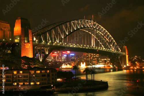 City on the water Sydney Harbour Bridge