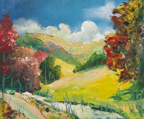 Nowoczesny obraz na płótnie Oil Paintings
