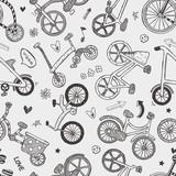 wzór roweru bez szwu. - 54762920