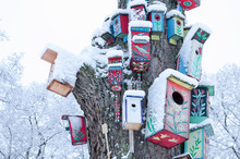 Decor Birdhouse Nesting Box Sn...