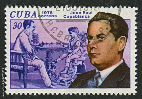 Poster  Postage stamp.