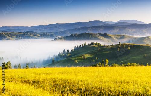 Staande foto Meloen mountains landscape