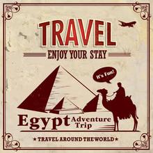 Vintage Travel Egypt Vacation ...