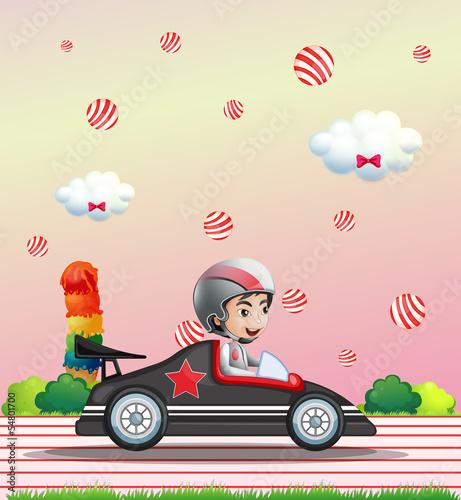 Recess Fitting Cars Car racing