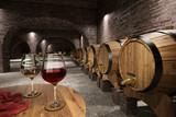Ancient wine cellar - 54835330