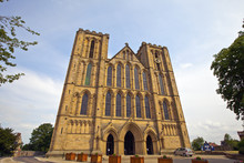 Medieval Cathedral In Ripon, N...