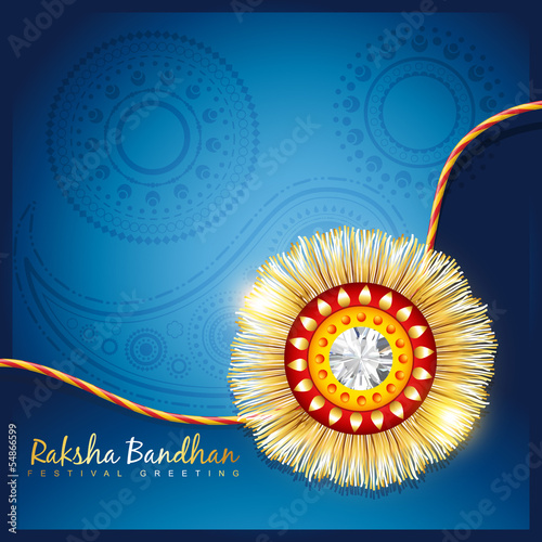 Fotografering  raksha bandhan festival background