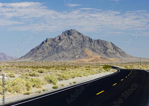 Eagle Mountain - Near Death Valley National Park Tableau sur Toile