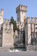 Castle on Garda Lake in Sirmione Italy