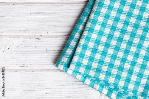 Fotografie, Obraz  checkered napkin