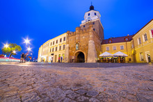 The Cracow Gate Of Old Town In...