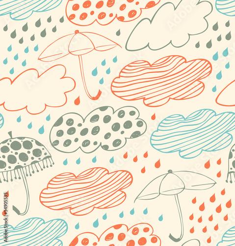 deszczowy-rysunkowy-wzor