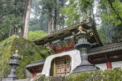 Koka-mon Gate of Iemitsu Mausoleum,Nikko,Japan