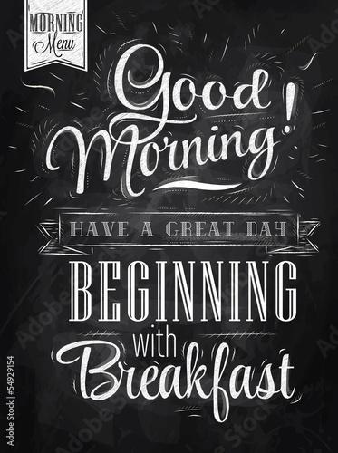 plakat-dzien-dobry-kreda-na-sniadanie