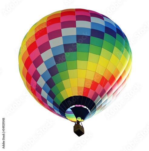 Tuinposter Ballon fesselballon