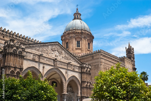 Foto  Cathedral of Palermo. Sicily. Italy