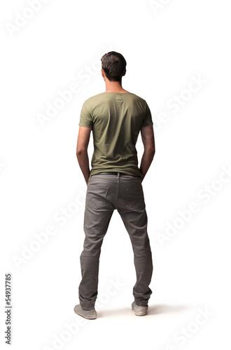 Fotografía  isolated man