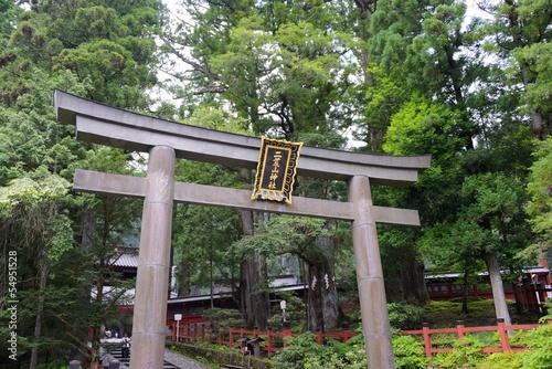 Futarasan Shrine, Nikko, Japan.UNESCO World Heritage Site