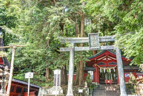 Papiers peints Jardin Futarasan Shrine,Chugushi Shrine, Nikko, Japan