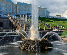 Peterhof Palace And Fountains