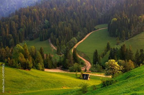 Fotografie, Obraz  Pienińskie Szlak