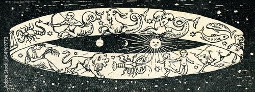 Obraz Zodiac signs - fototapety do salonu