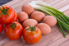 Fried Egg With Tomato Recipe, ...