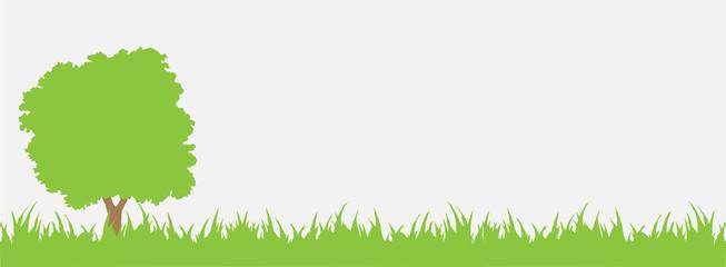 tree grass green