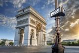 Fototapeta Paryż - Arc de Triomphe Paris