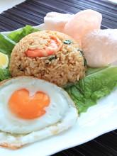 Indonesian Food, Nasi Goreng Fried Rice