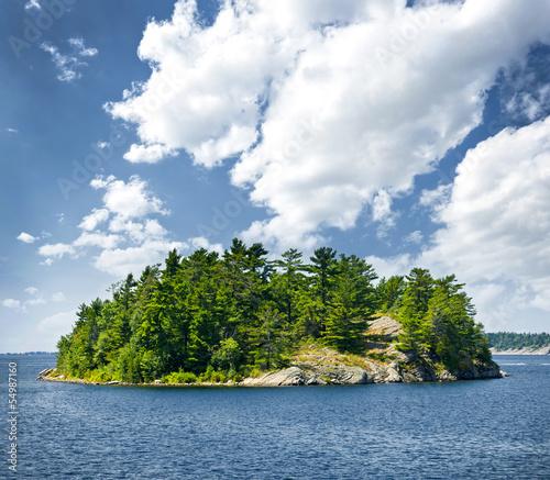 Fotografia, Obraz  Island in Georgian Bay