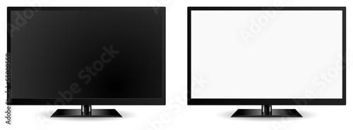 Fotografía  modern tv vector 3d icon