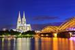 Cologne city skyline, Germany