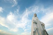 神ノ島教会のマリア像