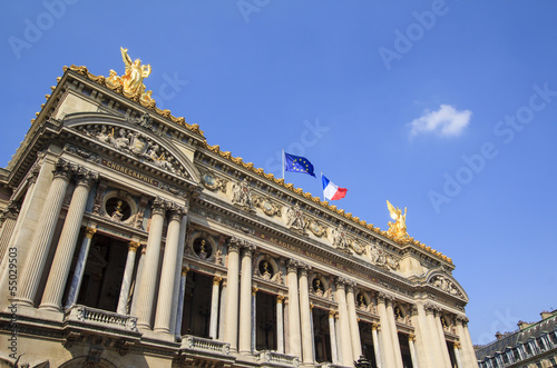 Photo Opera Garnier, Paris, France