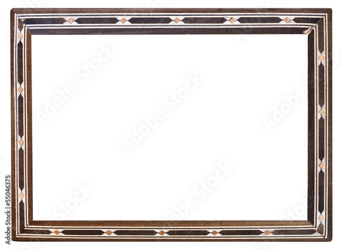 Fotografering  retro inlaid narrow picture frame