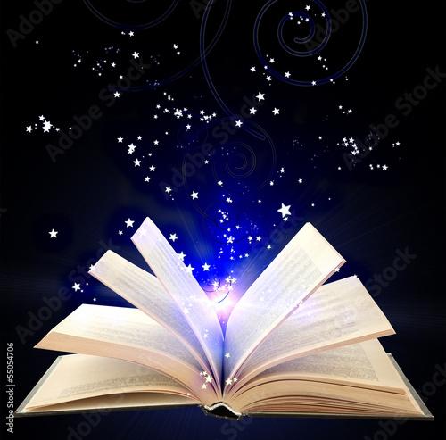 otworz-ksiazke-z-niebieskim-magicznym-swiatlem-i-spadajacymi-gwiazdami