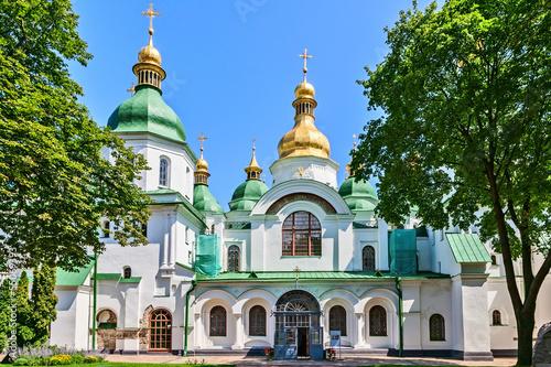 Foto op Plexiglas Kiev St. Sophia Cathedral, Kyiv, Ukraine.