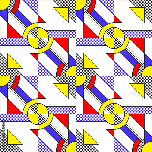 Photo  Pop Art Pattern