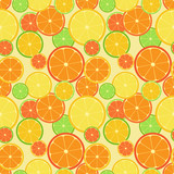 Color citrus pattern