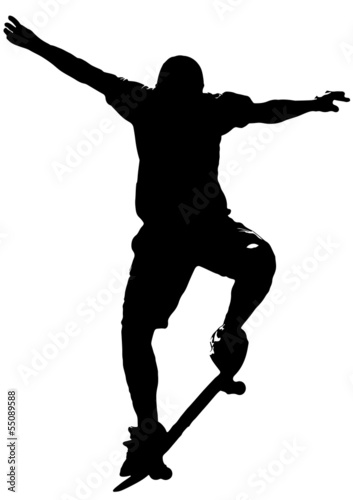 Fotografie, Obraz  Skateboarder 01