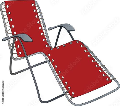 Slika na platnu Chaise lounge