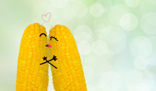 Couple Corn In Love