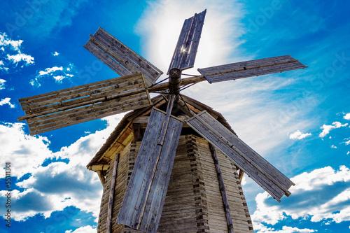 Poster Molens ludorvay windmill