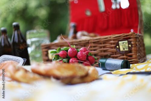 Tuinposter Picknick Picknick
