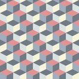 streszczenie sześciennych geometryczny wzór tła - 55118789